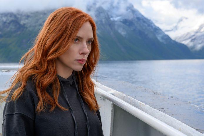 Scarlett Johansson als 'Black Widow'.