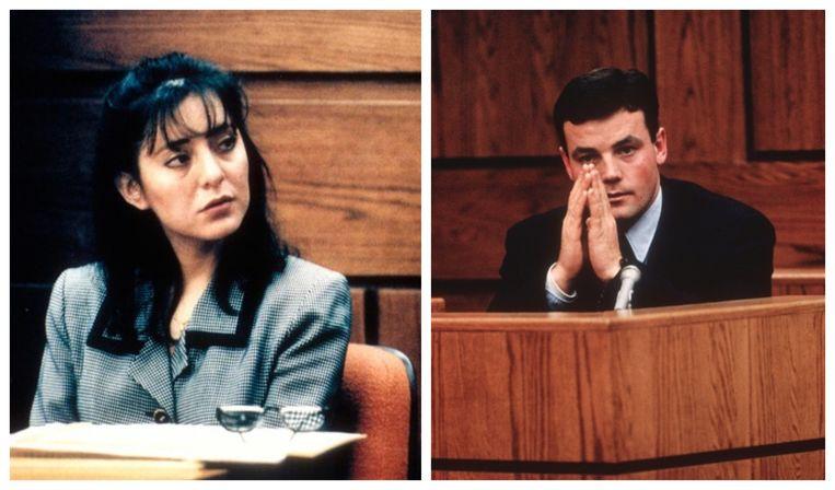 Lorena Bobbitt stond in 1993 terecht nadat ze het geslachtsdeel van echtgenoot John Bobbitt (foto rechts) had afgesneden.
