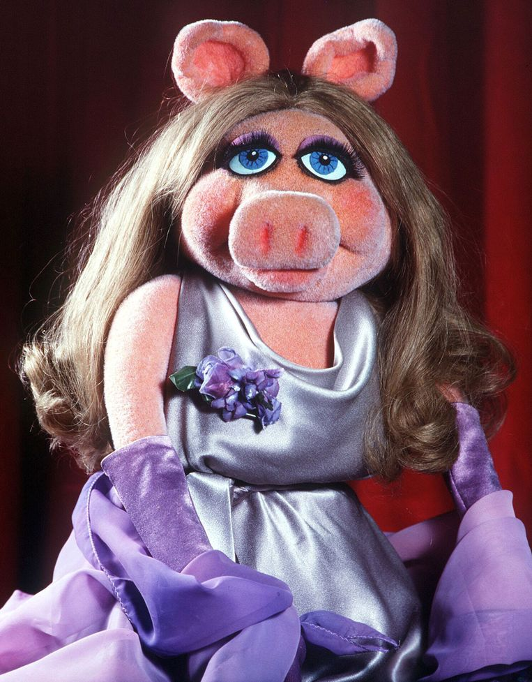 'Miss Piggy was een feministe, met een krachtige persoonlijkheid en doorgedreven wil, maar ze was óók een stijlvolle diva', zegt seksuologe Rika Ponnet.  Beeld Disney