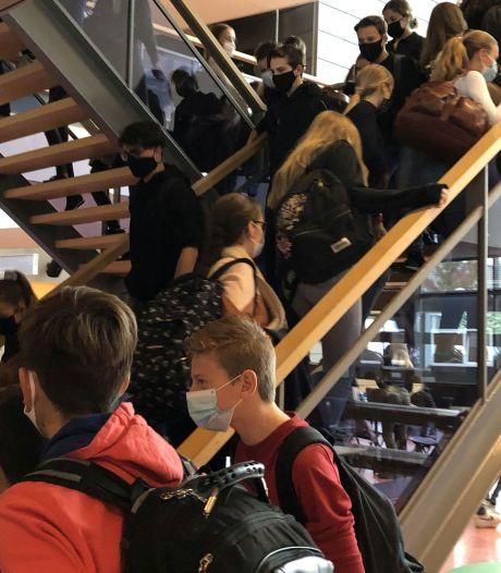 Kopzorgen op middelbare scholen in Wijchen en Druten om nieuwe afstandsregels: 'Straks drie keer zoveel ruimte nodig'