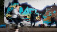VIDEO. District Berchem opent erkende graffitizone aan Ringfietspad