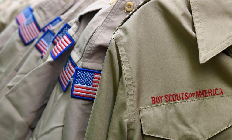 De Amerikaanse scoutingorganisatie Boy Scouts of America is een mega-schikking overeengekomen met tienduizenden slachtoffers van seksueel misbruik. Beeld AP
