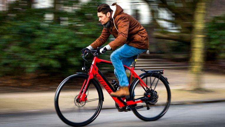 De speed pedelec kan tot 45 km per uur. Beeld anp