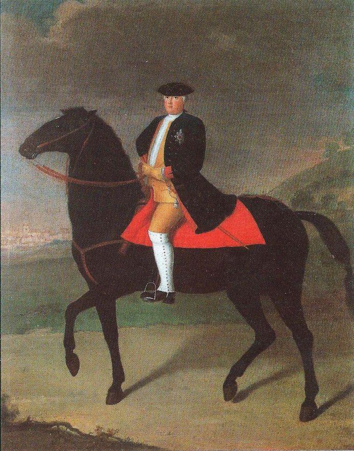 Frederik Willem I van Pruisen.