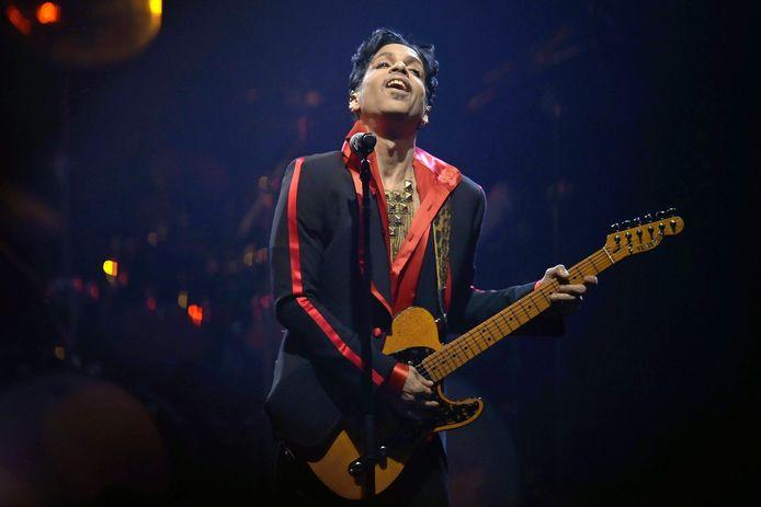 Prince au Sportpaleis d'Anvers en 2010.
