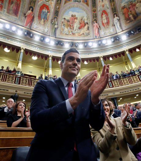 Pedro Sanchez reconduit à la tête du gouvernement espagnol