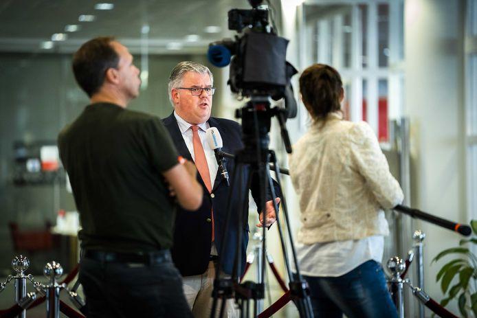 Burgemeester Hubert Bruls vond het deze week nog niet nodig voor Nijmegen extra maatregelen te nemen.