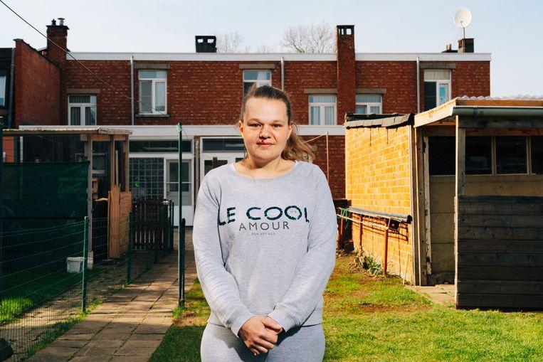 Wendy Burgelman: 'We hebben minder kleren gekocht, en minder ijsjes.Maar nu wordt het tijd dat we onszelf weer eens trakteren.' Beeld Illias Teirlinck