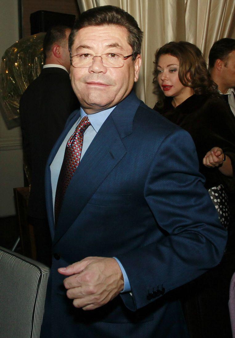 Chodiev in 2012 in Moskou. Toen moest hij zich al geen zorgen meer maken over het Belgisch gerecht: in juni 2011 kocht hij zijn rechtszaak af. Beeld Valeriy Levitin/Imageglobe