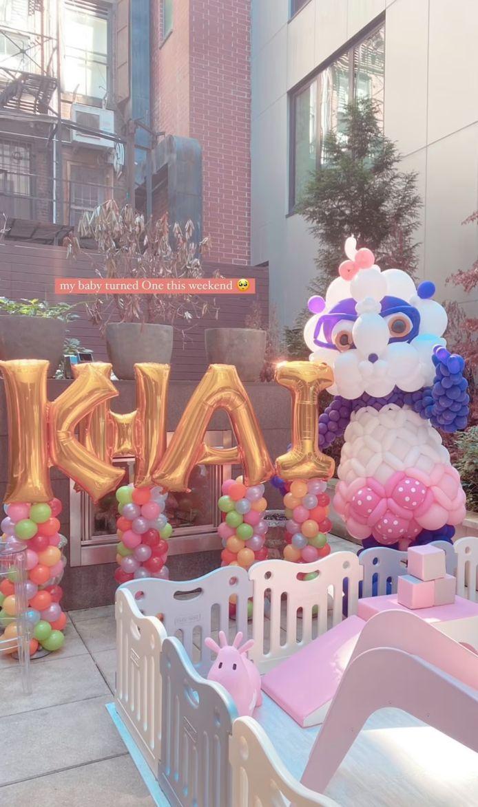 Het verjaardagsfeestje van Khai.