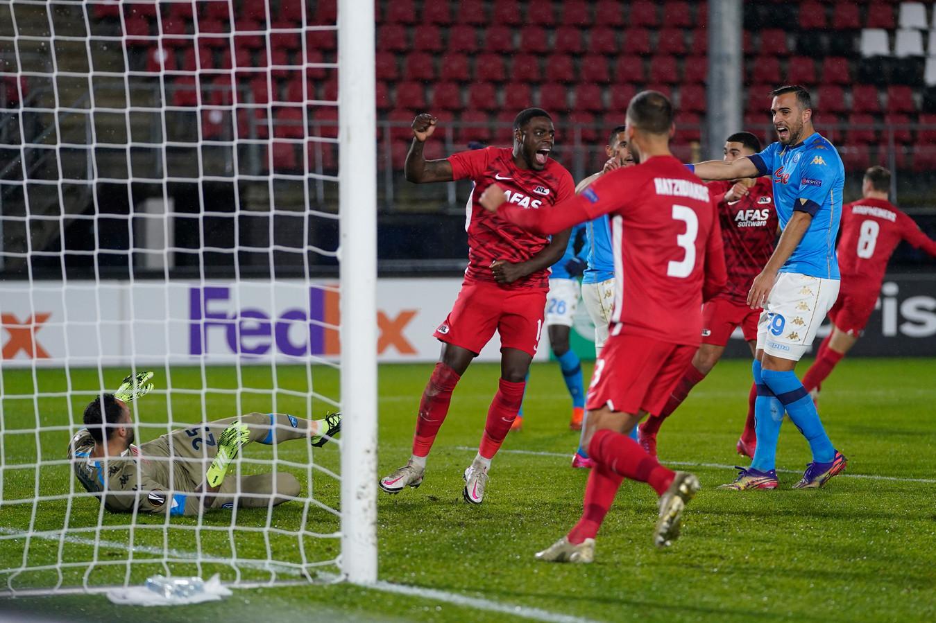 Bruno Martins Indi maakte gisteren alweer zijn tweede doelpunt in anderhalve week tijd.