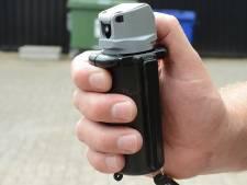 Nachtelijke herrieschopper spuit pepperspray naar politie in Zevenbergen