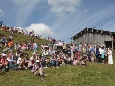 Friso herdacht tijdens bergmis in Lech