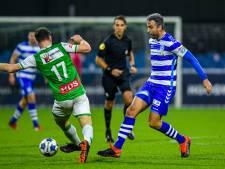 De Graafschap koploper na zege op coachloze hekkensluiter FC Dordrecht