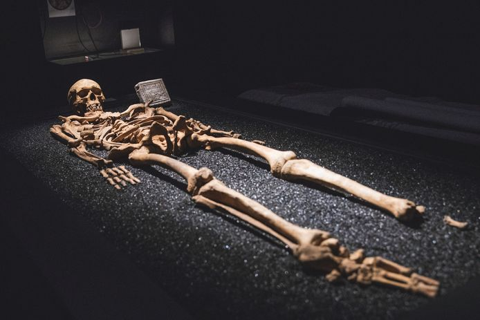 Vulferus, gevonden onder het Sint-Pietersplein, met een boodschap uit de ondergrond.