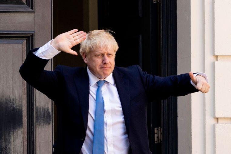 De nieuwe premier van Groot-Brittannië, Boris Johnson. Beeld AFP