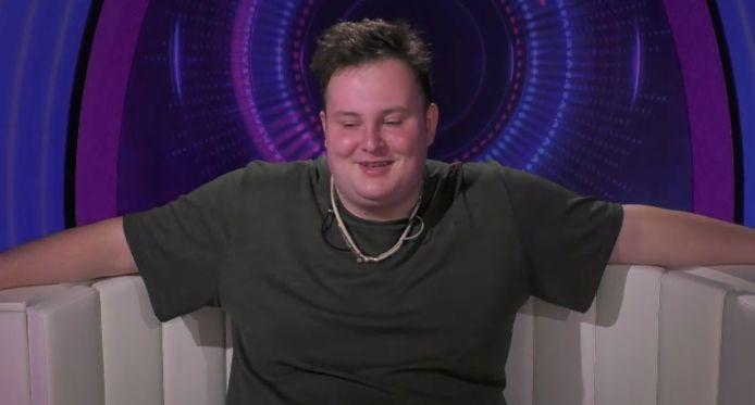 Thomas tijdens zijn laatste week in 'Big Brother'.