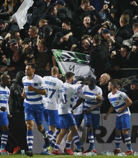 Zwolle explodeert: penalty in blessuretijd bezorgt PEC eerste zege van het seizoen