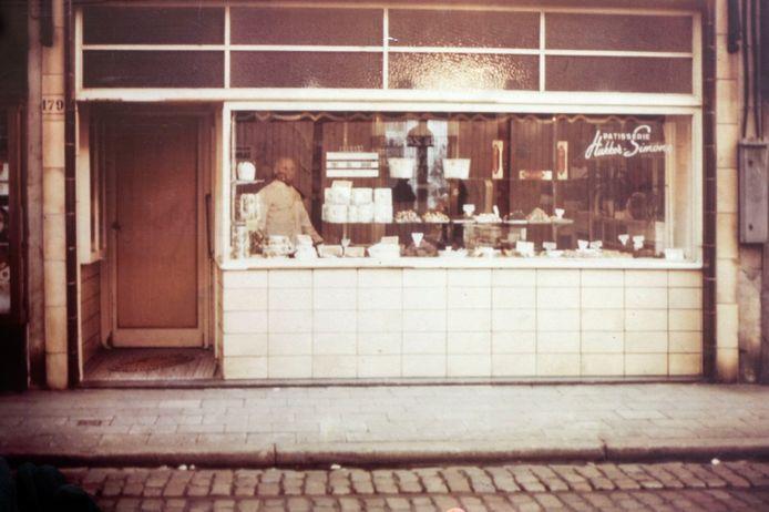 De bakkerij van Jos Hakker waar het Antwerpse Handje werd uitgevonden.