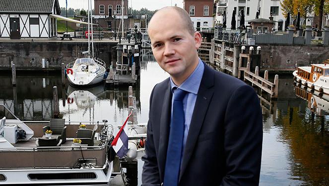 De uit Gorinchem opgestapte wethouder Eeuwit Klink.