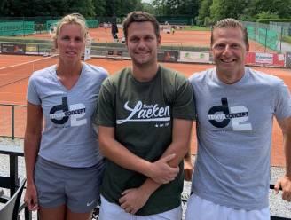 "Daphne Vande Zande en David Basile leiden tennisschool op Royal Laeken Tennis Club: ""Afscheid PTKV is verteerd"""