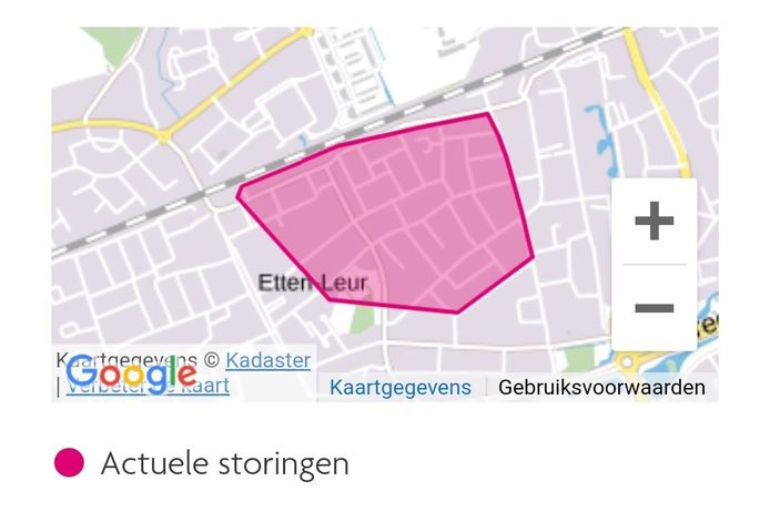 Stroomstoring Etten-Leur