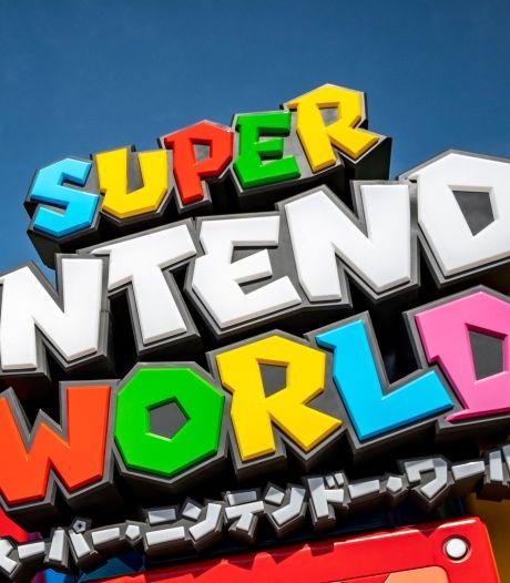 """Le parc d'attraction """"Super Nintendo World"""" a ouvert ses portes"""
