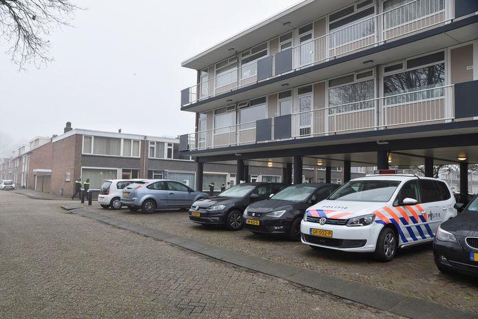 Een woning aan de Predikherenlaan in Tilburg werd overvallen.