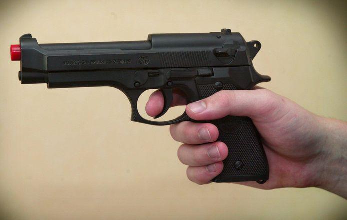 Een imitatie van een Beretta-pistool. Foto ter illustratie.
