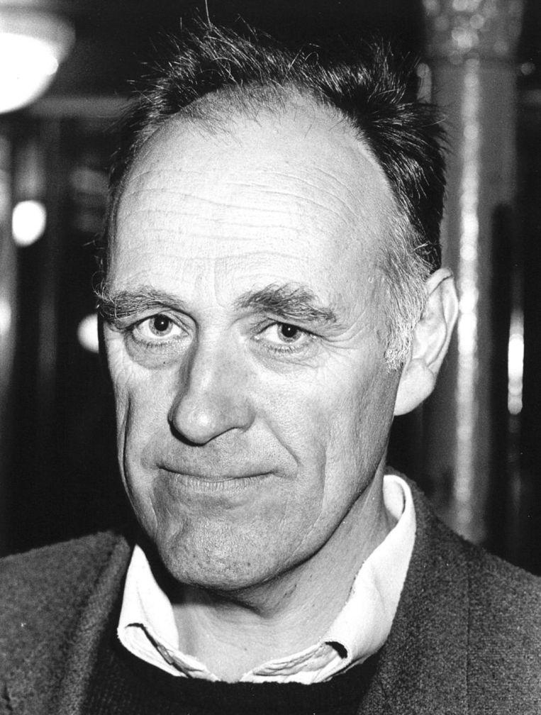 Hugo Brandt Corstius, foto uit 1986. Beeld anp