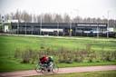 GGD Testpaviljoen Arnhem - Nijmegen in Lent.