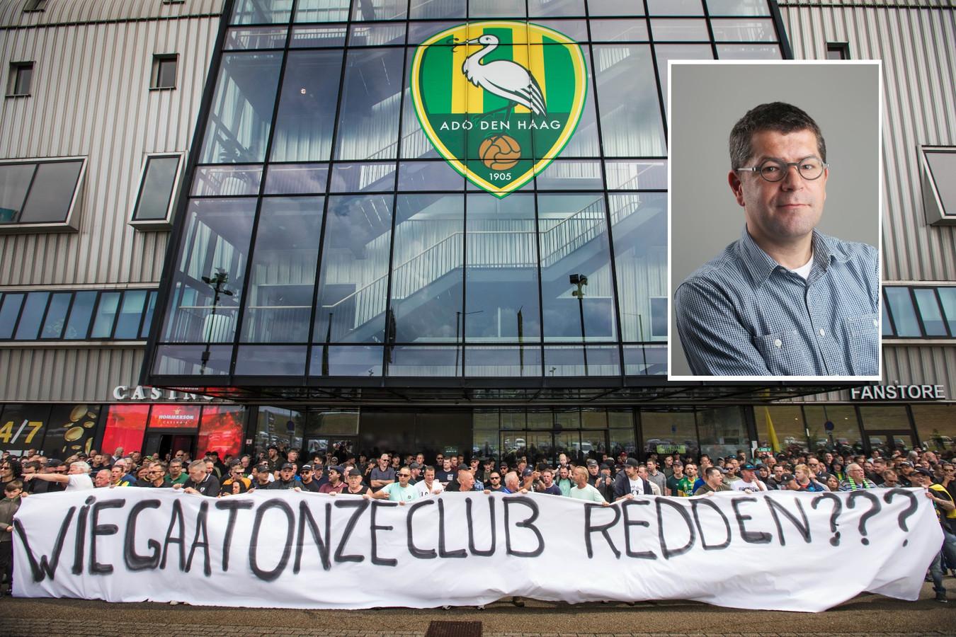 Chef Axel Veldhuijzen over ADO Den Haag en de lening van de gemeente
