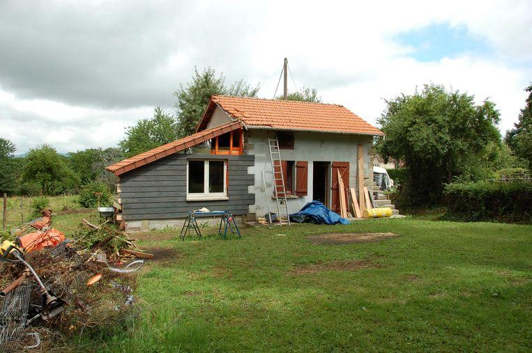 Svens huisje in Frankrijk. Beeld Privéarchief