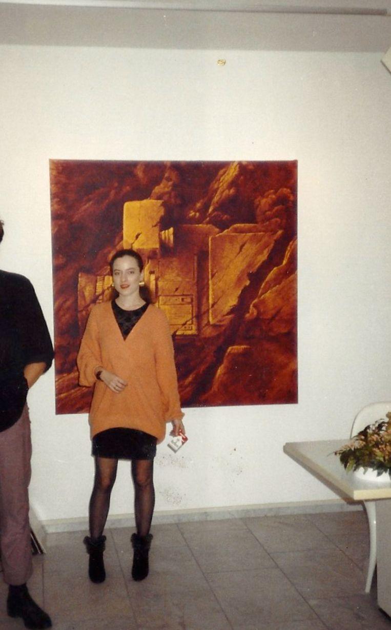 In ca. 1987, voor werk van Rob Scholte. Beeld