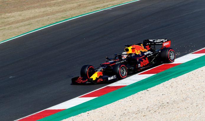Max Verstappen tijdens de Grand Prix van Portugal.
