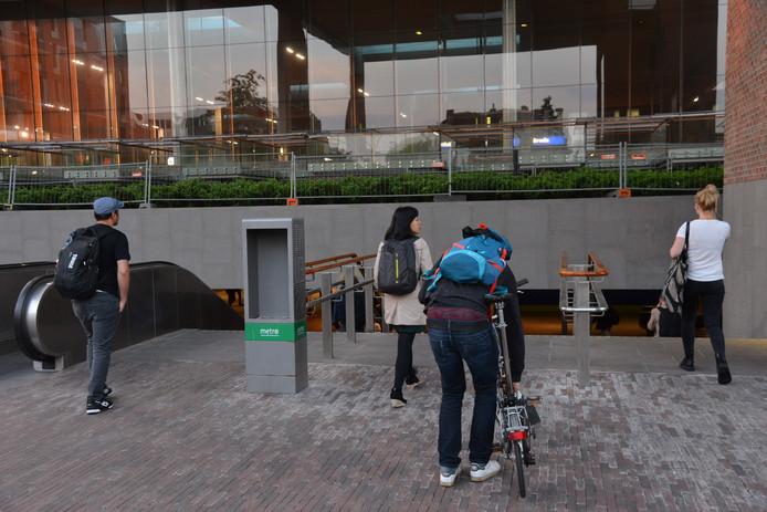 Reiziger mogen het station in Breda weer in.