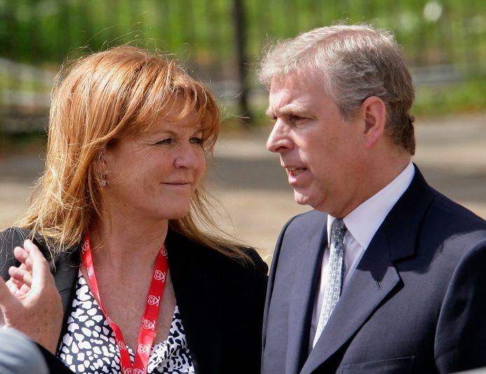 Sarah Ferguson en prins Andrew.