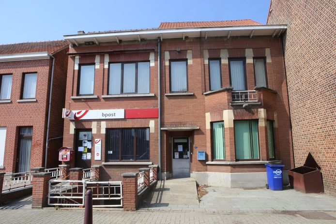 Het postkantoor is sinds vandaag tijdelijk gesloten.