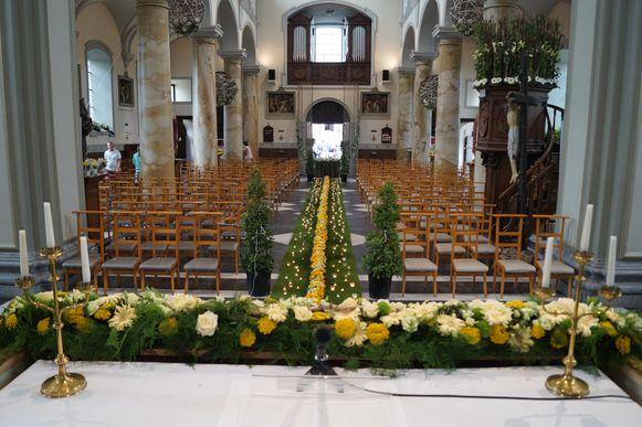 Tien jaar later werd de kerk van Kanegem onder handen genomen