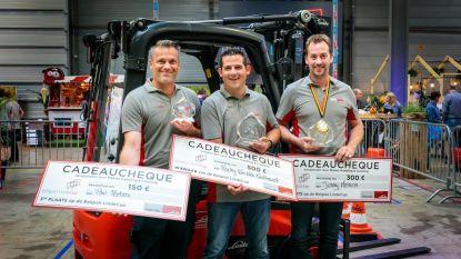 Twee Limburgers op podium 'Beste Heftruckchauffeur van België'