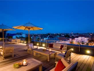 Brussels hotel vormt rooftop om tot gastronomisch terras