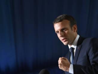 Man opgepakt die Franse president Macron wilde vermoorden