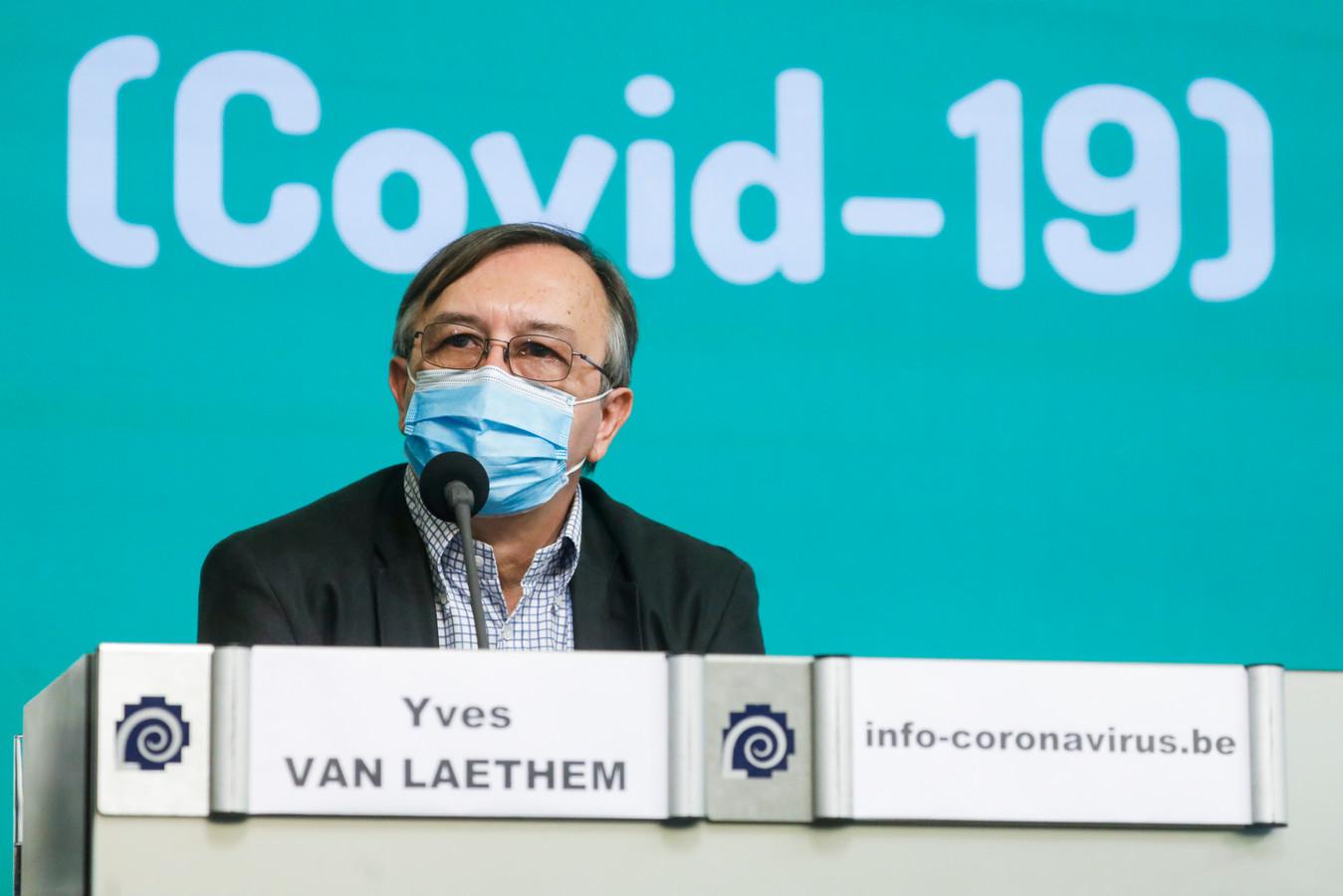 Yves Van Laethem.