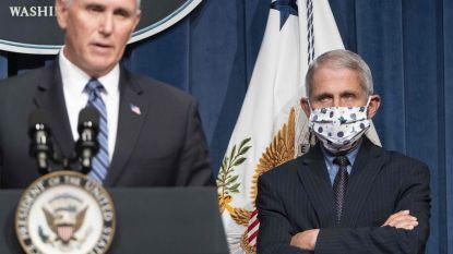 """Amerikaanse topviroloog Fauci: """"Besmettingsgolf door lak aan voorschriften"""""""
