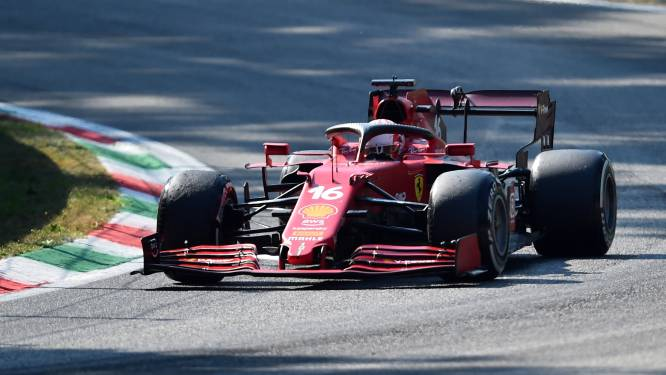 Leclerc krijgt straf vanwege nieuwe Ferrari-motor en start in Rusland achteraan