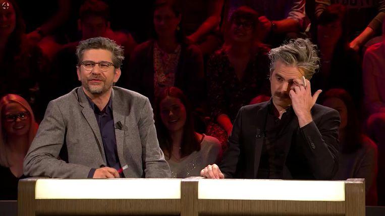 Juryleden: Wim Helsen en Jeroom. Beeld RV Vier