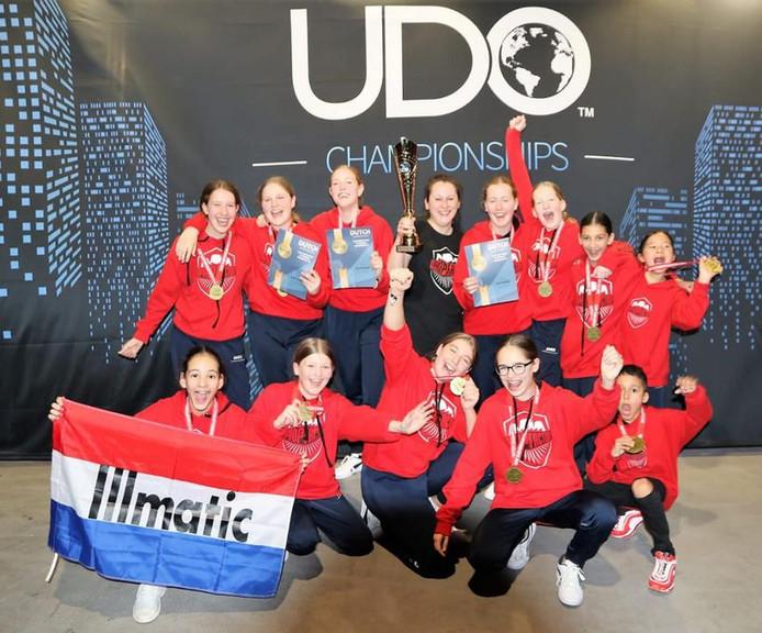 Dansgroep Illmatic gaat naar de WK Engeland.