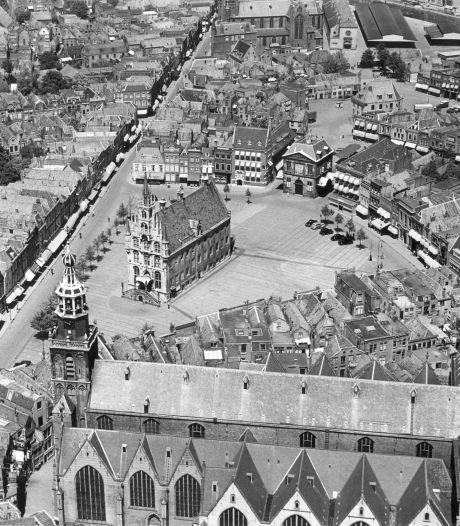 Gouda van boven: 5 x oude luchtfoto's van onze stad