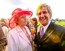Carmen samen met haar echtgenoot Jean-Marie Pfaff.