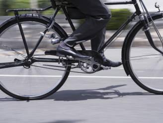 Wie fietst naar het werk, is gelukkiger